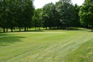 Hole 1 Green At Woodlynn Hills Golf Course