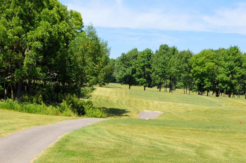 Hole 14 from Tee At Woodlynn Hills Golf Course